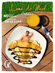 Mister Crepe 2014 en Luna de Miel Antigua